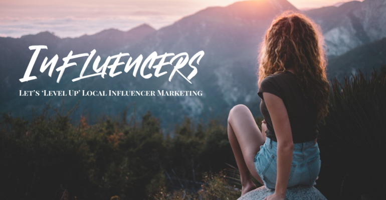 Local Influencer Marketing Sign Up – Let's Level Up!