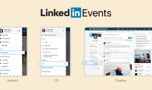 LinkedIn | Events now available!